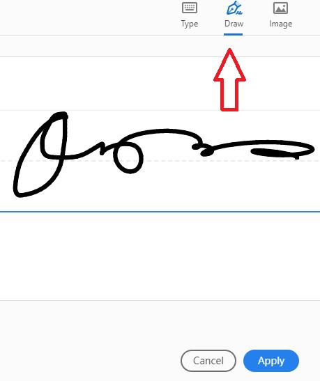 חתימה על מסמך PDF